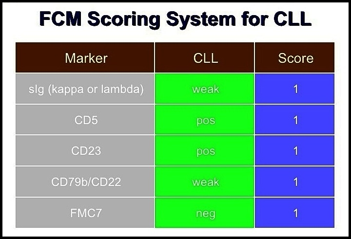 CLL Scoring System
