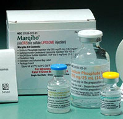 vinCRIStine sulfate LIPOSOME injection