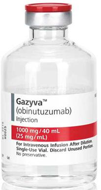 Gazyva, anti-CD20 monoclonal antibody