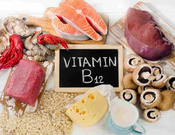 Foods rich in B12